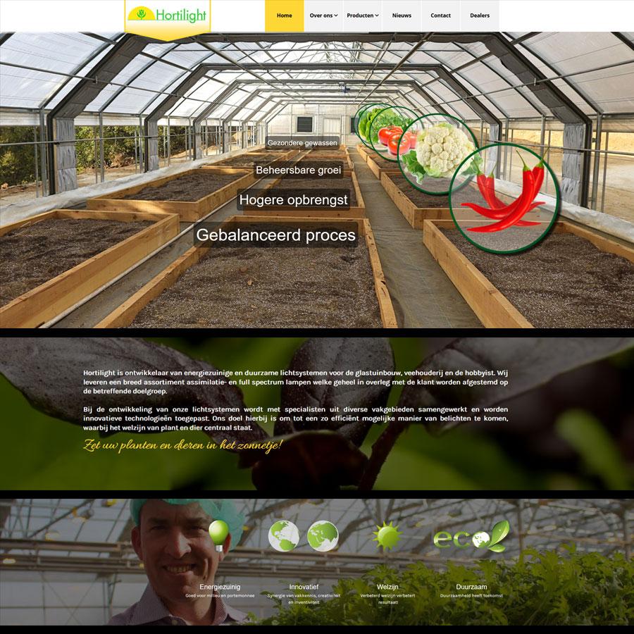 Heropbouw hortilight.eu