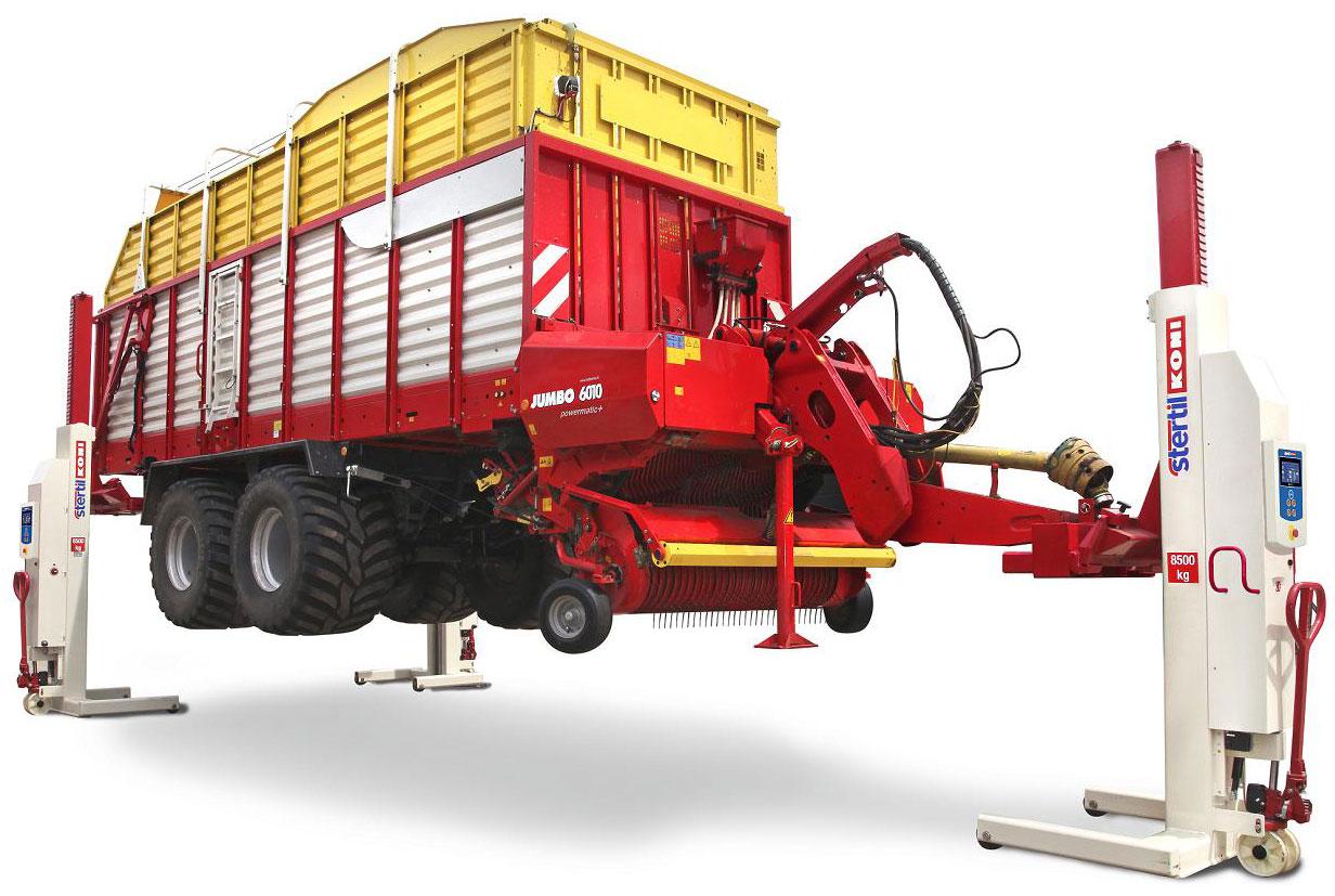 Hefbruggen voor landbouw en mechanisatie